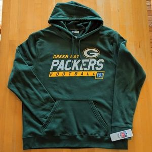 🆕 Green Bay Packers Football NFL Hoodie Men's XL